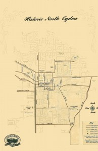 Map of Historic North Ogden