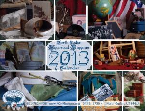 NOHM 2013 Calendar