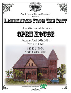 Landmarks open house flyer
